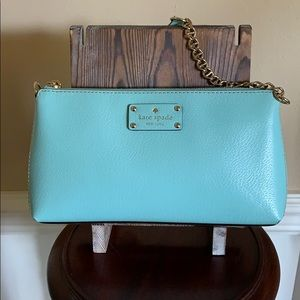 Kate spade ♠️ zip top shoulder bag EUC